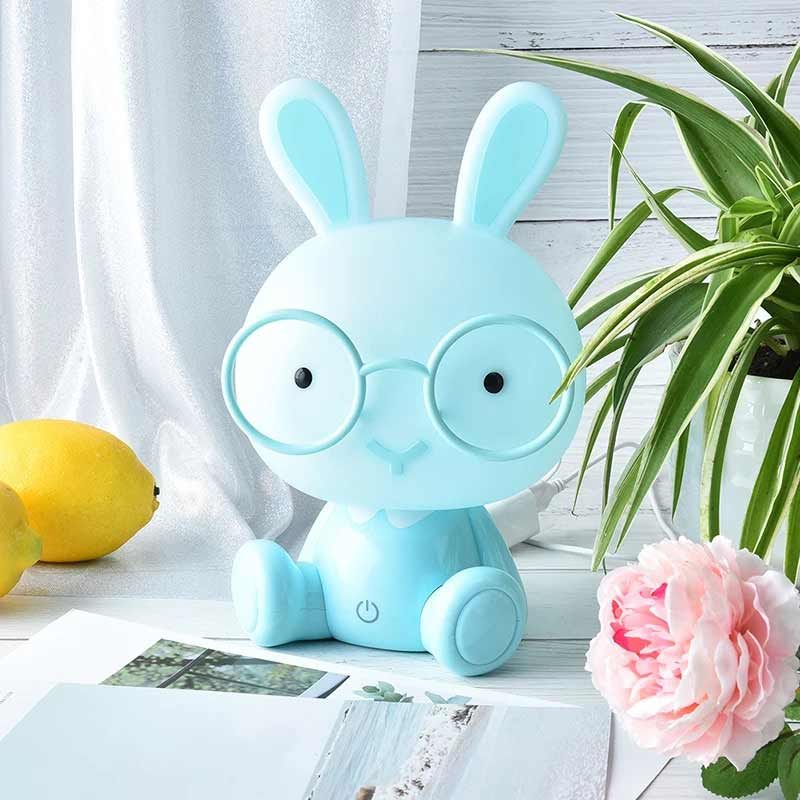 Clude Lamp Rabbit blue