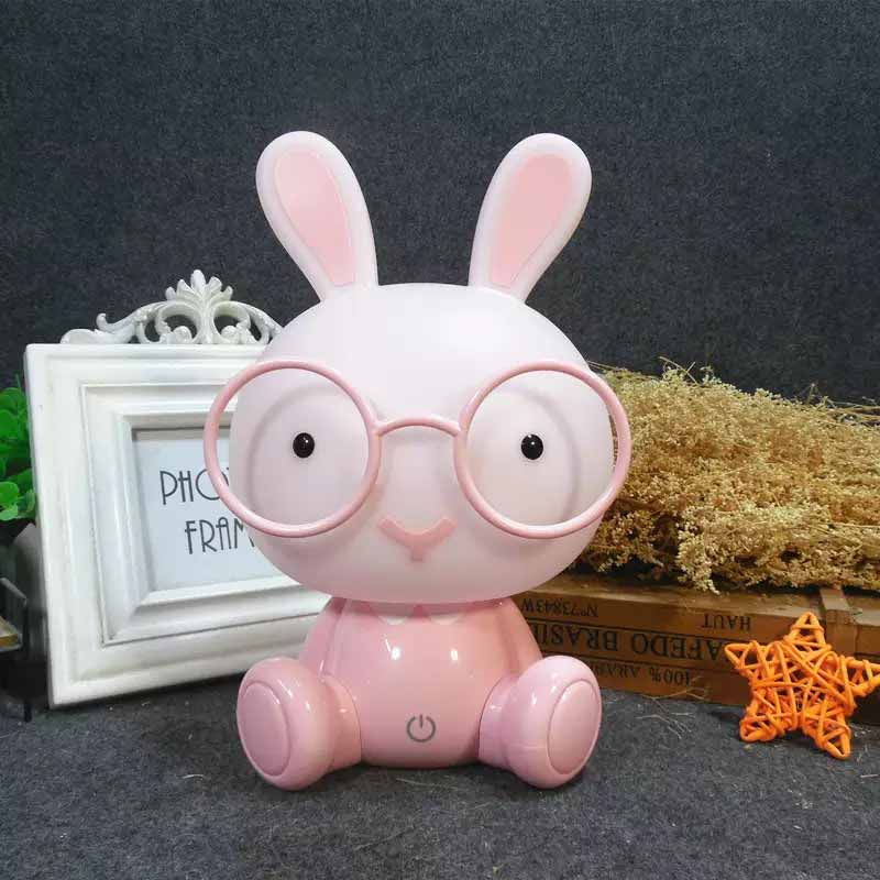 Clude Lamp Rabbit pink